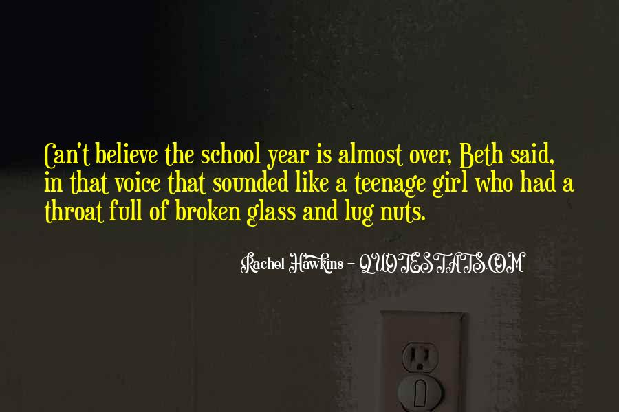 Quotes About A Teenage Girl #1427519