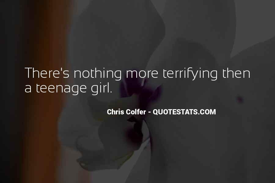 Quotes About A Teenage Girl #1725532