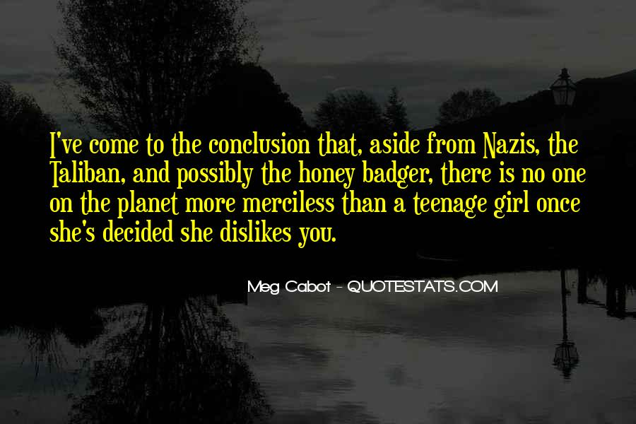 Quotes About A Teenage Girl #295093