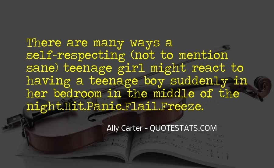 Quotes About A Teenage Girl #508179