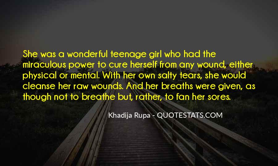 Quotes About A Teenage Girl #650505