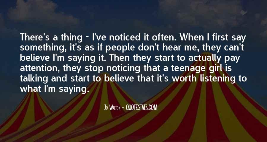 Quotes About A Teenage Girl #685670