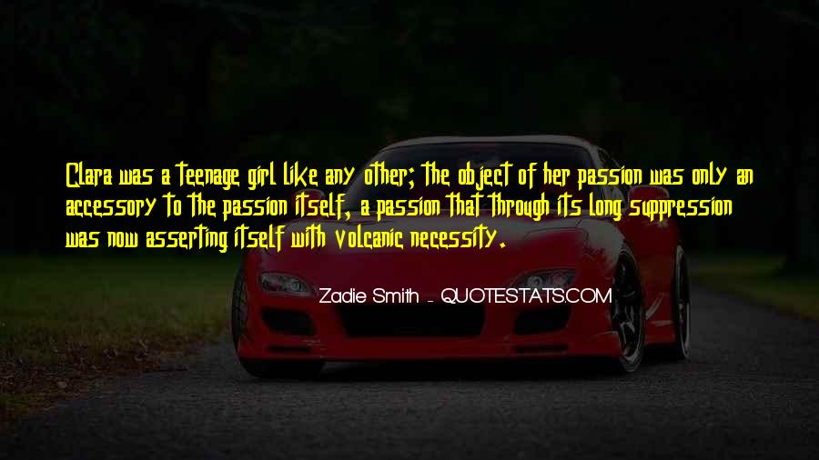 Quotes About A Teenage Girl #742417