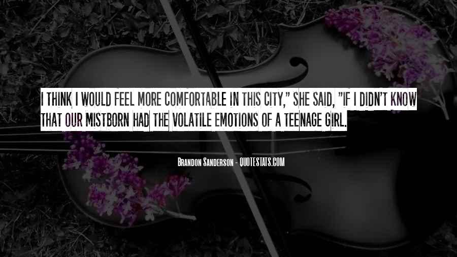 Quotes About A Teenage Girl #782362