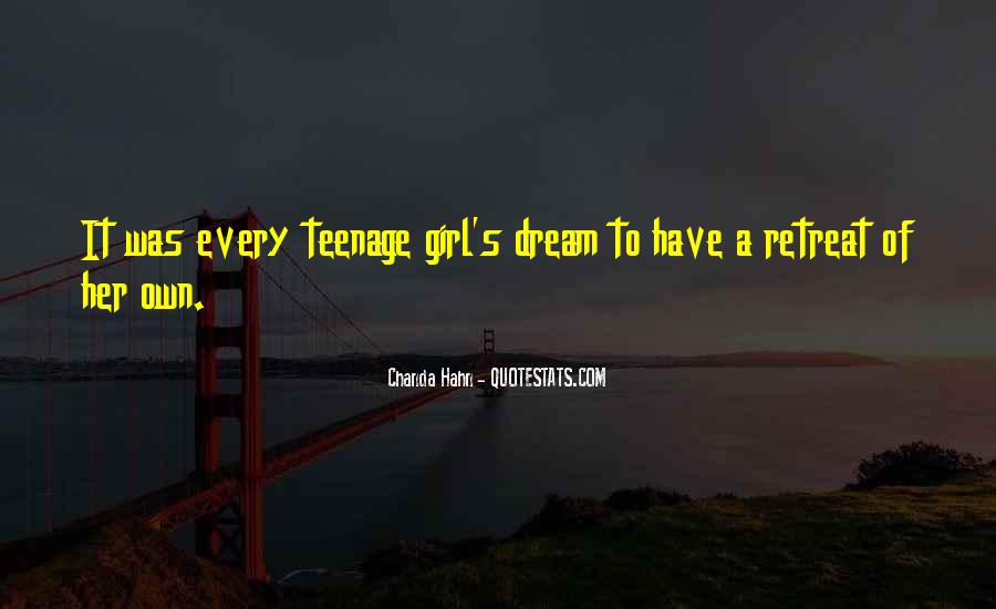 Quotes About A Teenage Girl #884195