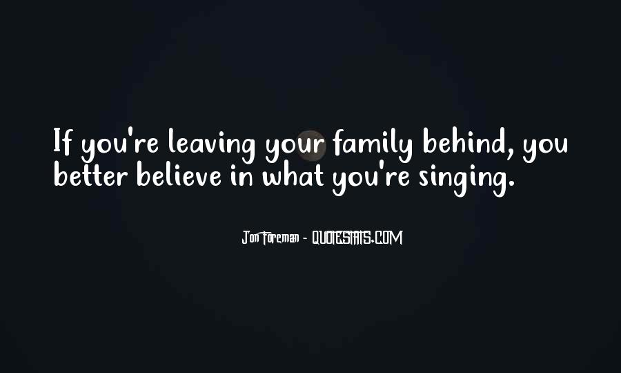 Quotes About Leaving The Past Behind Us #107110