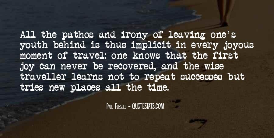 Quotes About Leaving The Past Behind Us #96824