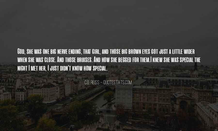 Quotes About That Special Girl #1254846