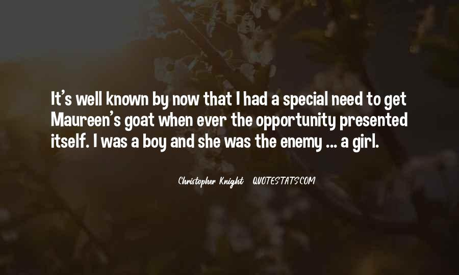 Quotes About That Special Girl #1373442
