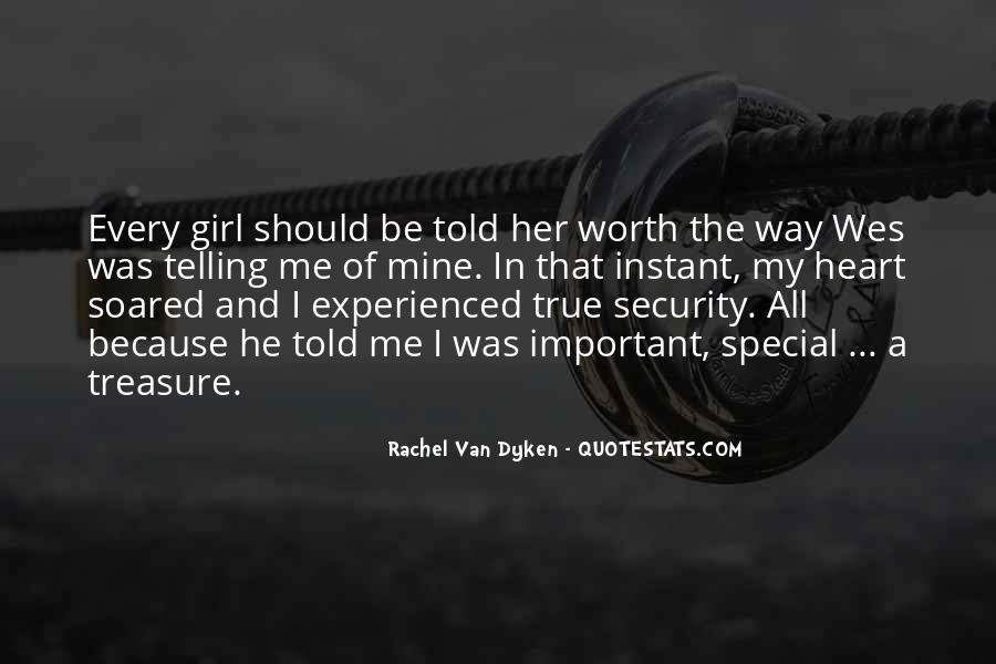 Quotes About That Special Girl #708548