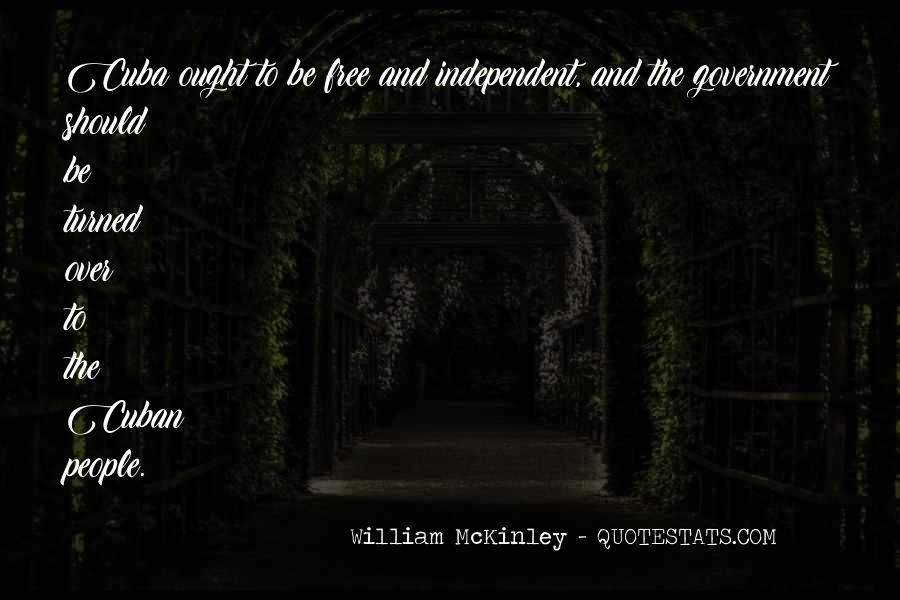 Quotes About Mckinley #107861