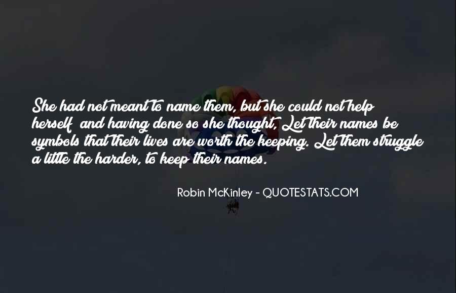 Quotes About Mckinley #140147