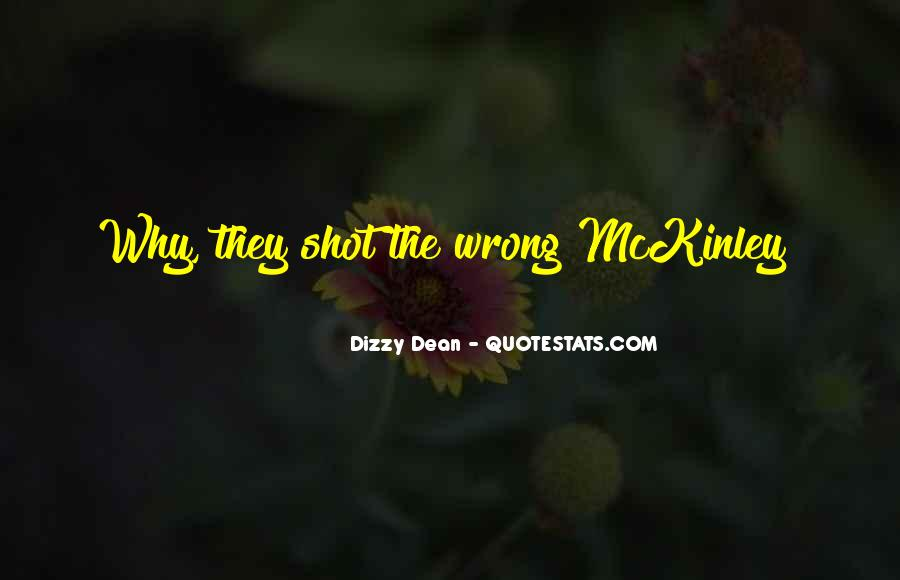 Quotes About Mckinley #266358