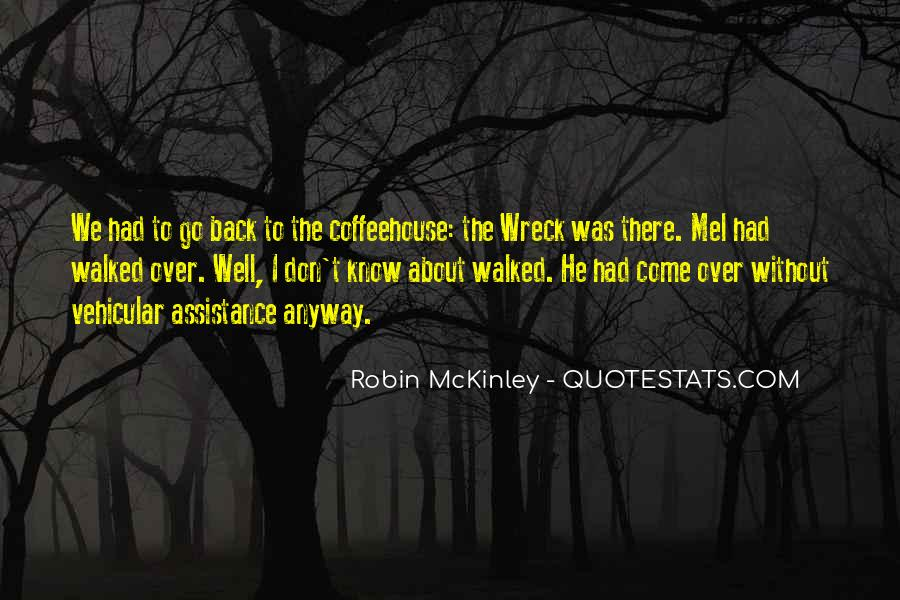 Quotes About Mckinley #333066
