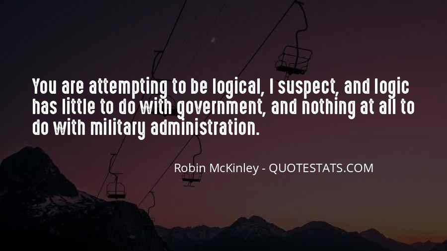 Quotes About Mckinley #662705