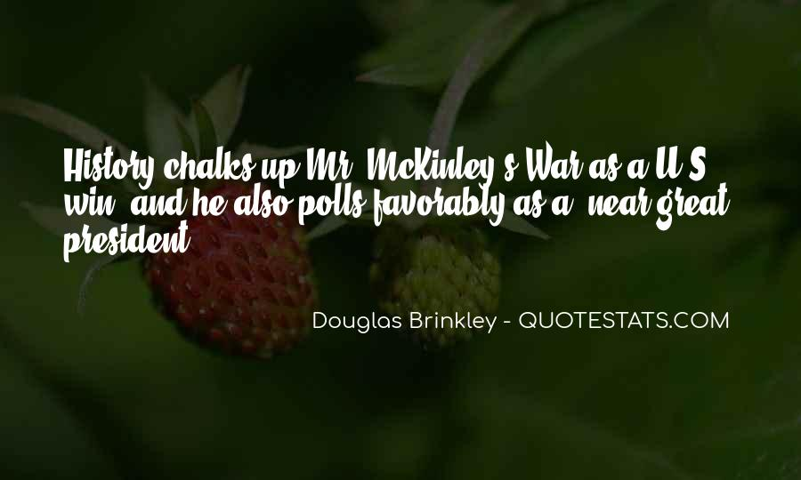Quotes About Mckinley #678519
