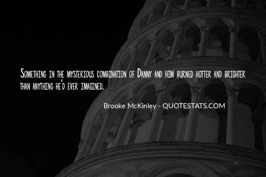 Quotes About Mckinley #68071