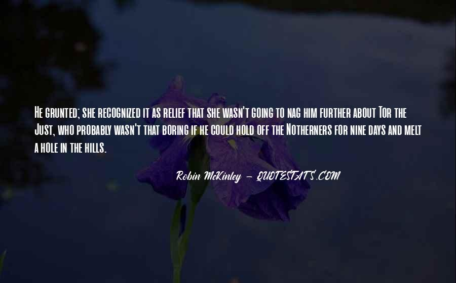 Quotes About Mckinley #711755