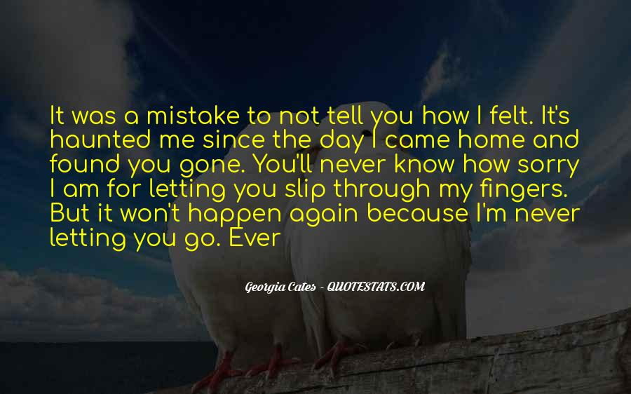 Quotes About Not Letting Her Go #5988