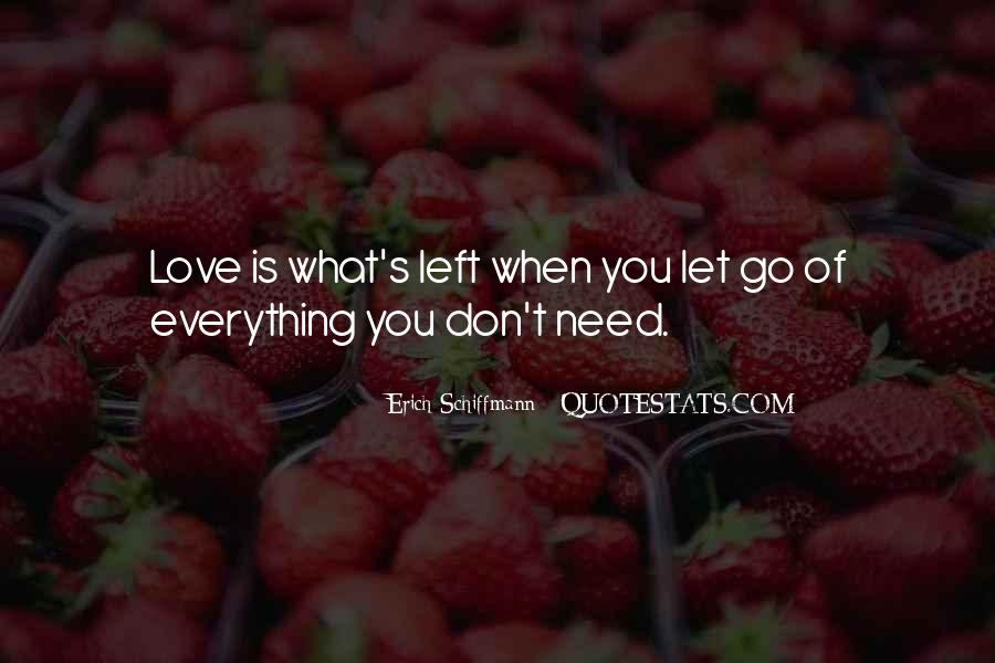 Quotes About Not Letting Her Go #9833