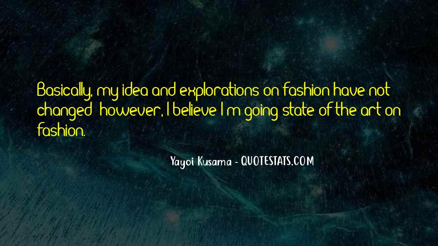 Quotes About Fashion And Art #1532784