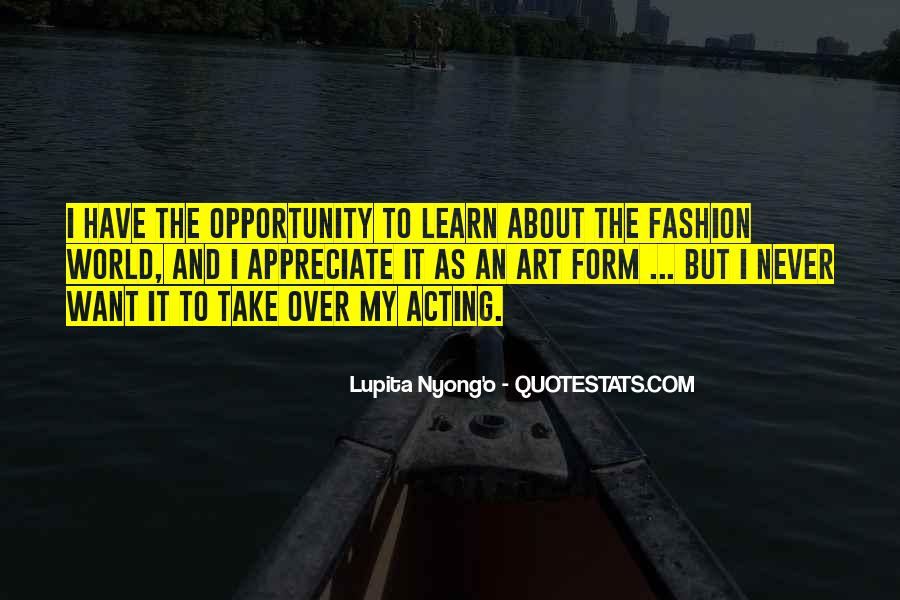 Quotes About Fashion And Art #188524