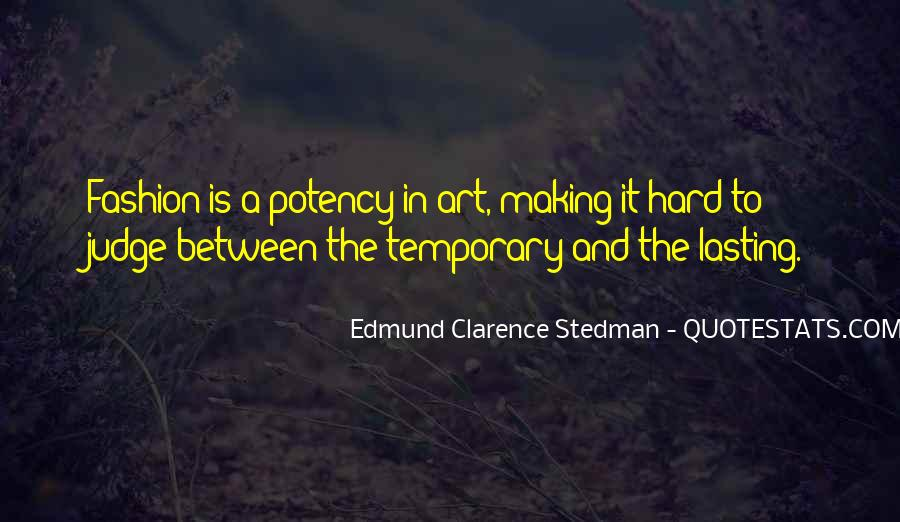 Quotes About Fashion And Art #365700