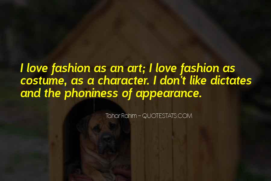 Quotes About Fashion And Art #574638