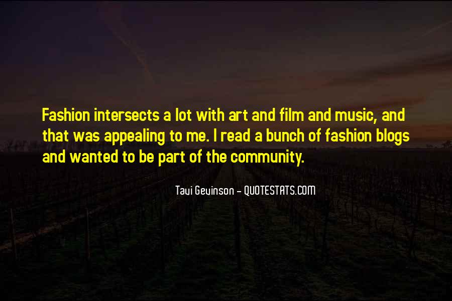 Quotes About Fashion And Art #584760