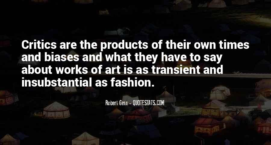 Quotes About Fashion And Art #620809