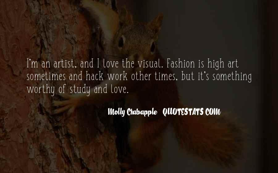 Quotes About Fashion And Art #767749