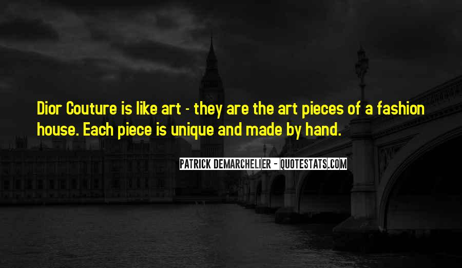 Quotes About Fashion And Art #937204