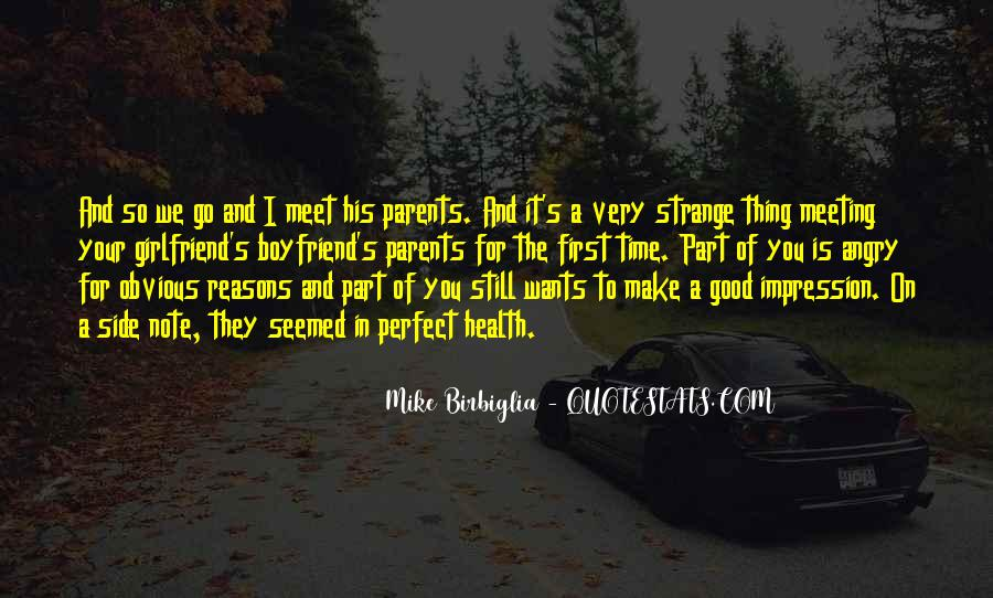 Quotes About Meeting The Parents #123333