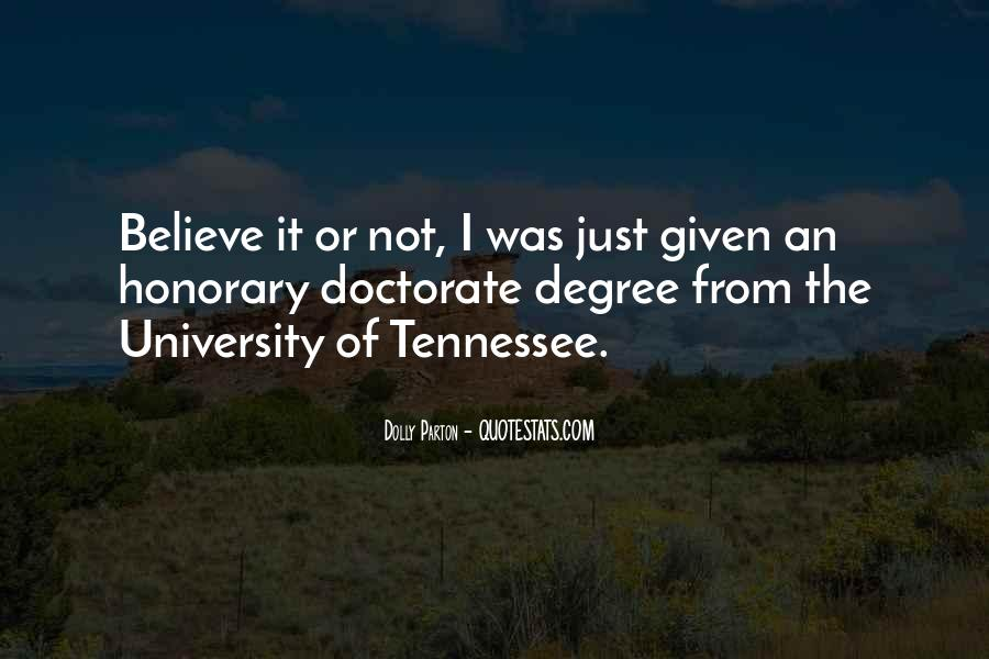 Quotes About University Degree #1152466