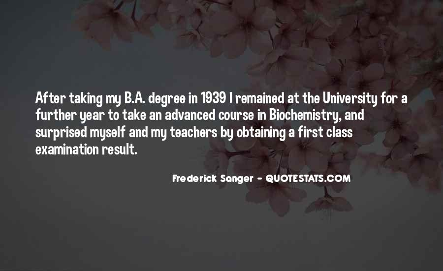 Quotes About University Degree #1300638