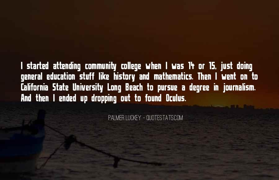 Quotes About University Degree #1561506