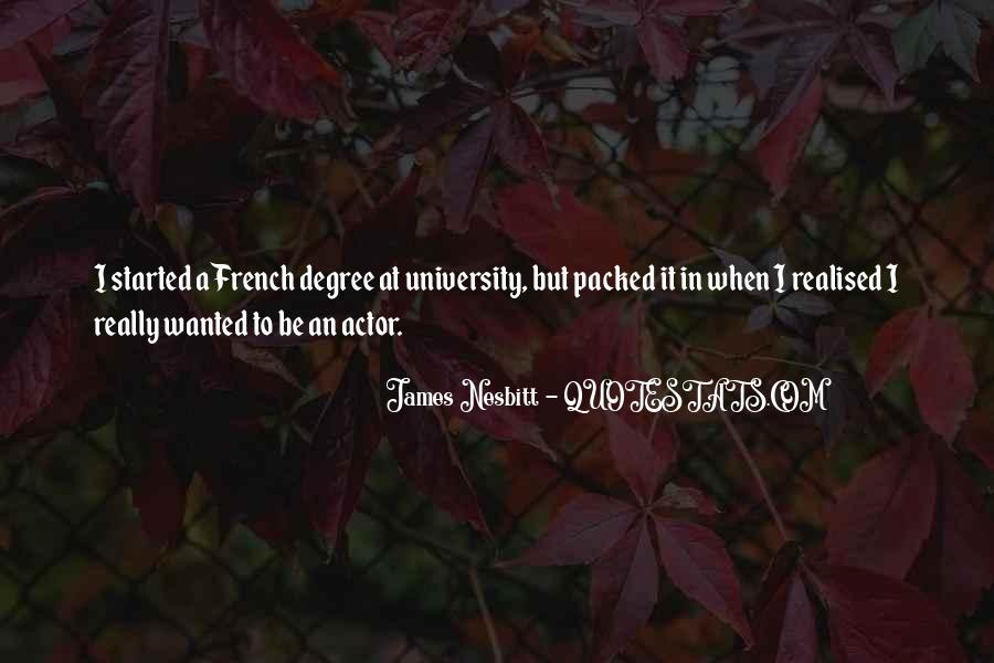 Quotes About University Degree #1634500