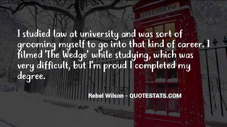 Quotes About University Degree #353904