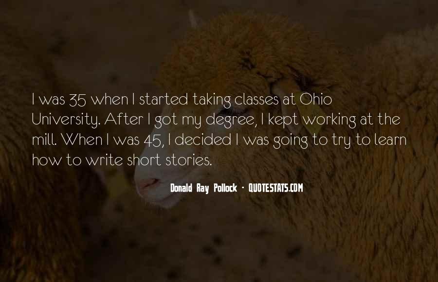 Quotes About University Degree #406132