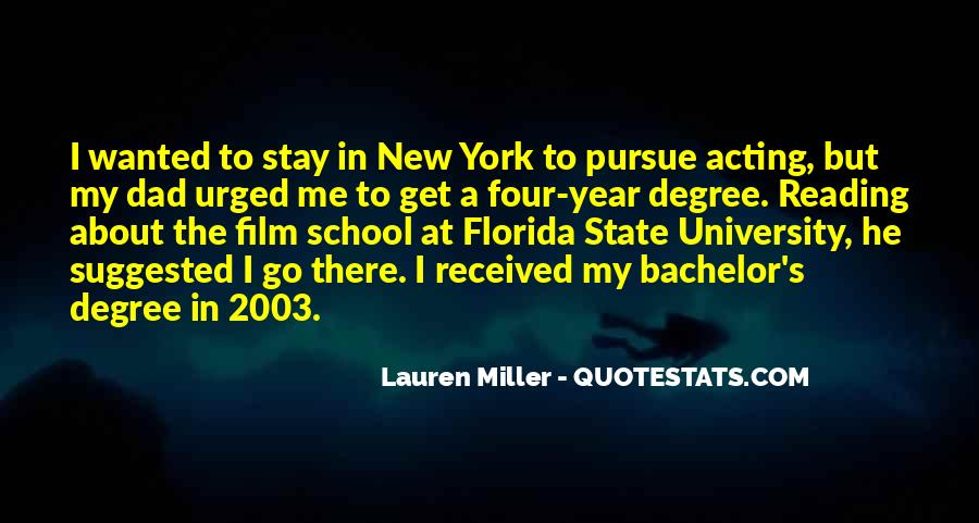 Quotes About University Degree #501825