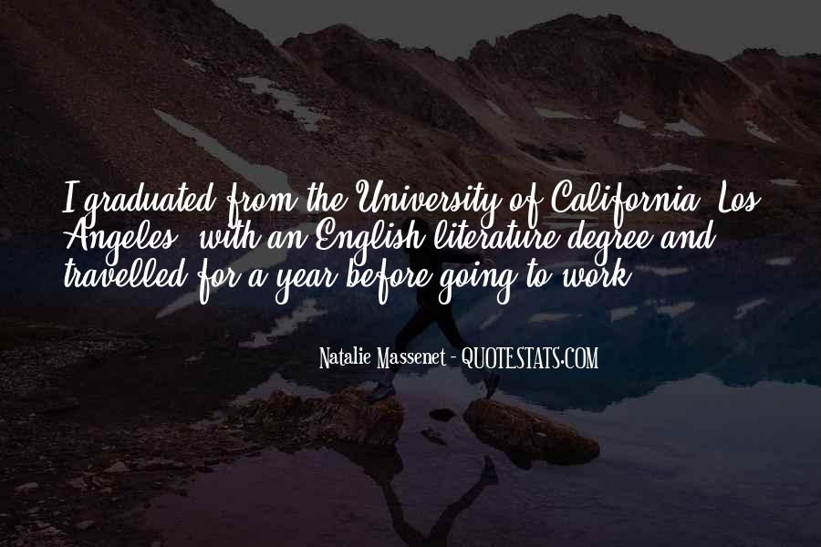 Quotes About University Degree #51786