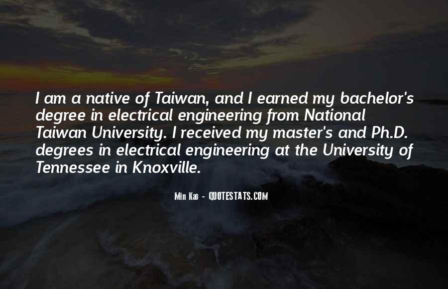 Quotes About University Degree #688632