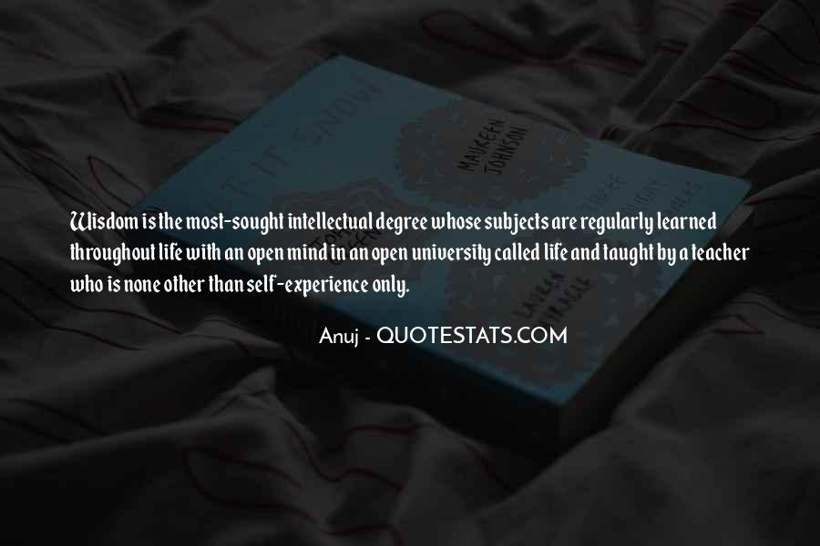 Quotes About University Degree #692654