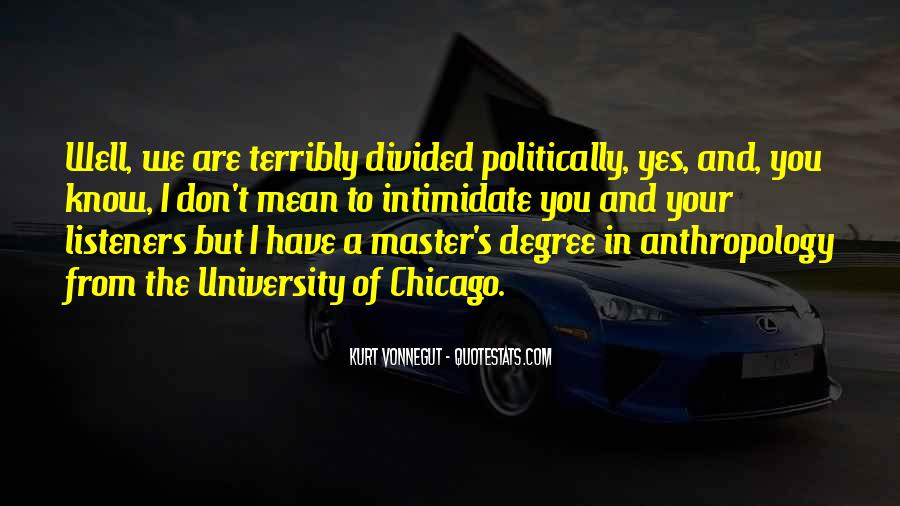 Quotes About University Degree #751415