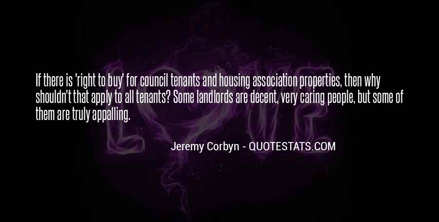 Quotes About Tenants #1116308
