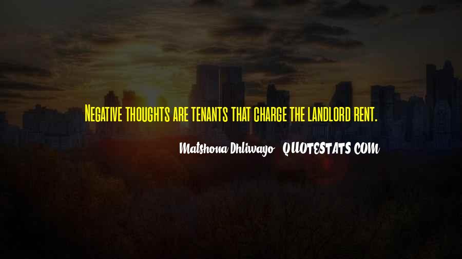 Quotes About Tenants #1162773