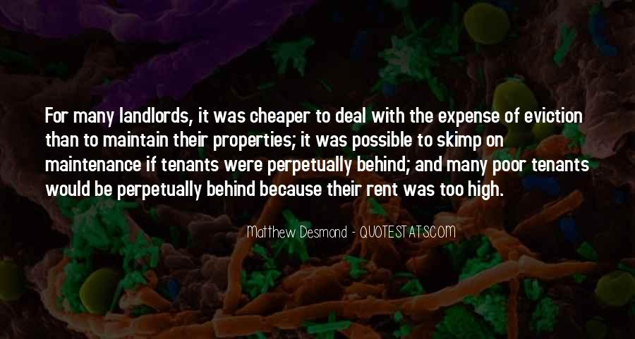 Quotes About Tenants #1532118