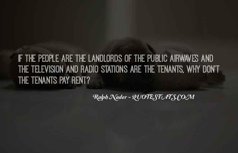 Quotes About Tenants #1664224
