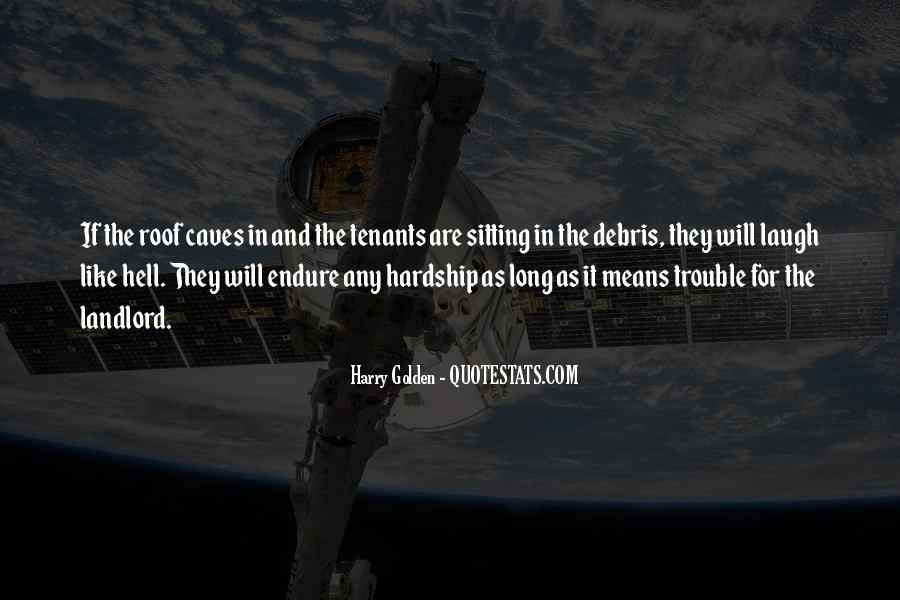 Quotes About Tenants #712496