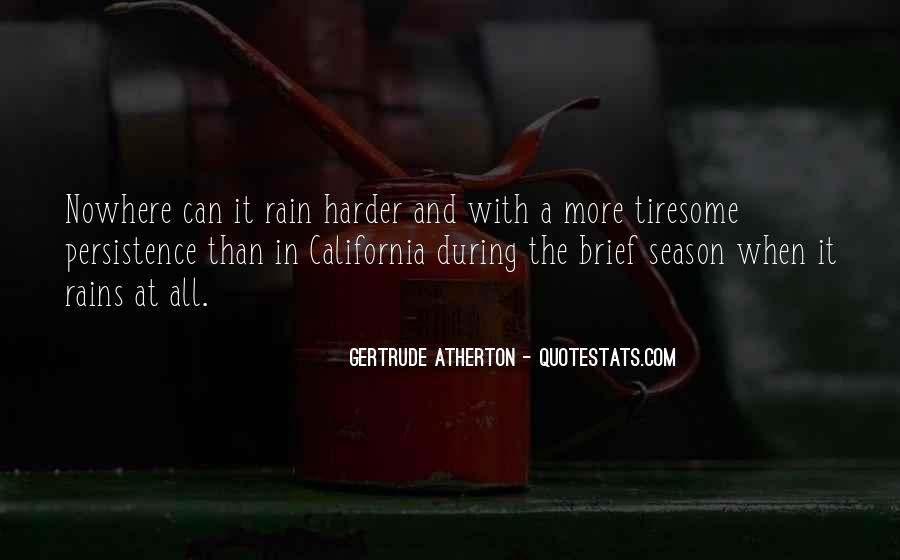 Quotes About Rain In California #1728077